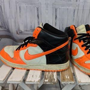 Nike Mens running shoes Zoom 12 317891-181 orange